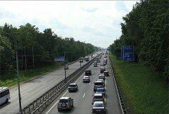 Дорога до Аэропорта Домодедово. Фото Mazgayob