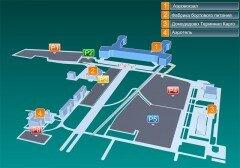 Расположения парковок в Аэропорту Домодедово. фото domodedovo.ru