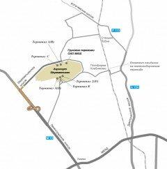 Схема проезда в Аэропорт Шереметьево на автомобиле. Фото svo.aero
