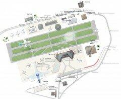 Схема Аэропорта Шереметьево. Фото svo.aero