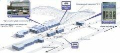 Схема фэропорта Домодедово. Фото vnukovo.ru